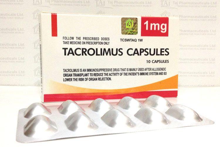Tacrolimus aceptado como fármaco huérfano en la UE